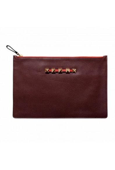 Valentino Garavani 100% Leather Multi-Color Women's Rockstud Clutch Bag