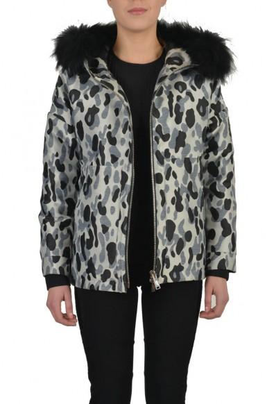 """Authentic Moncler """"ADA"""" Women's Real Fur Trim Down Parka Jacket: Picture 2"""