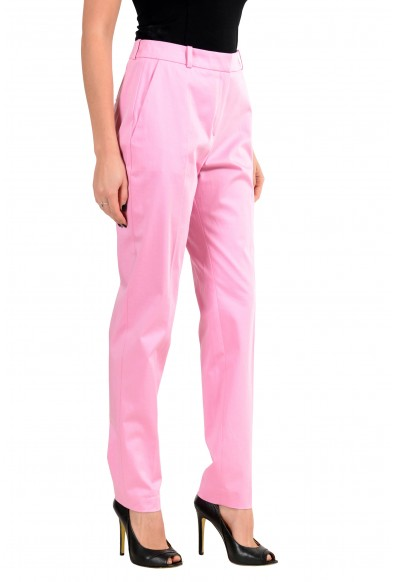 """Hugo Boss """"Herila"""" Women's Pink Stretch Casual Pants : Picture 2"""