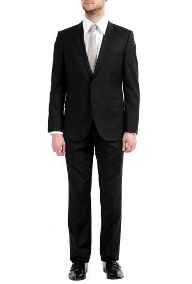 "Hugo Boss ""The Jam75/Sharp3"" Men's 100% Wool Black Two Button Suit"