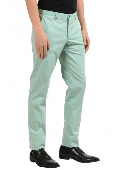 Versace Collection Men's Turquoise Dress Pants: Picture 2