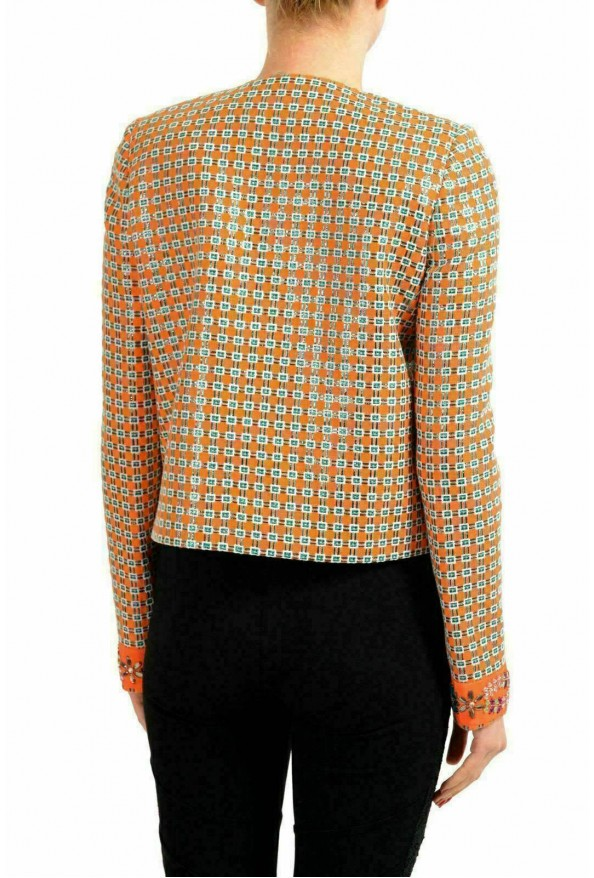 Just Cavalli Multi-Color Embellished Women's Basic Jacket: Picture 2