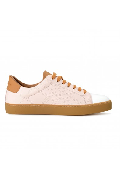 """Burberry Men's """"WESTFORD"""" Leather Fashion Sneakers Shoes : Picture 2"""