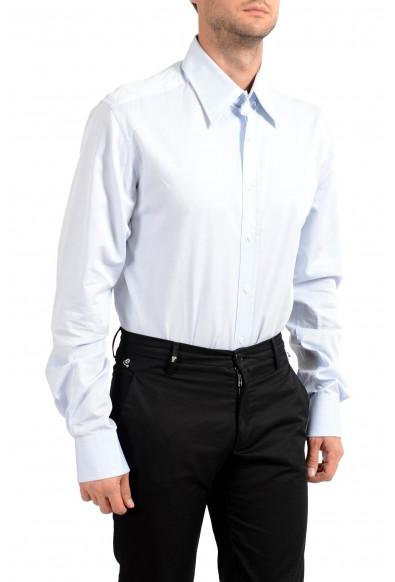 Dolce&Gabbana Men's Light Blue Long Sleeve Dress Shirt: Picture 2