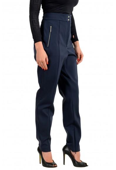 "Hugo Boss Women's ""Hatine"" Dark Blue Casual Pants : Picture 2"