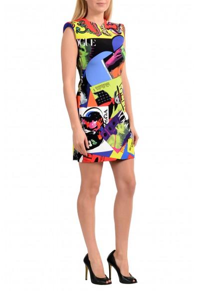 Versace Women's TRIBUTE Multi-Color Sheath Mini Dress : Picture 2