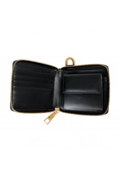 Versace Unisex Leather Pony Hair Zip Around Wallet: Picture 2