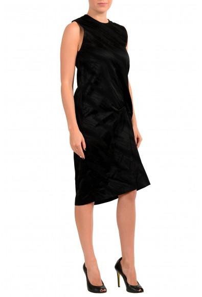 Just Cavalli Women's Black Sleeveless Crewneck Shift Dress: Picture 2