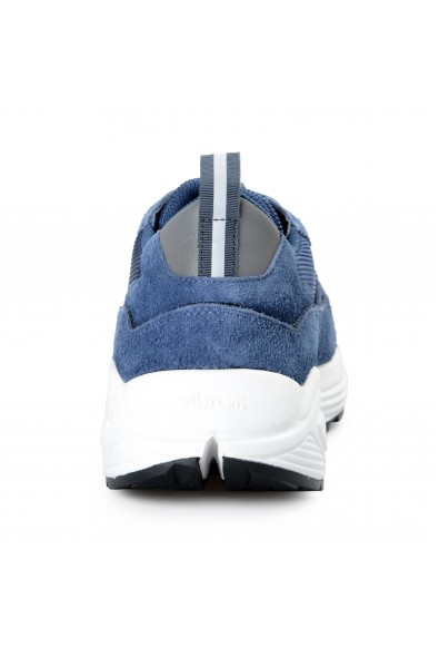 Car Shoe By Prada Men's Blue Suede Leather Fashion Sneakers Shoes : Picture 2