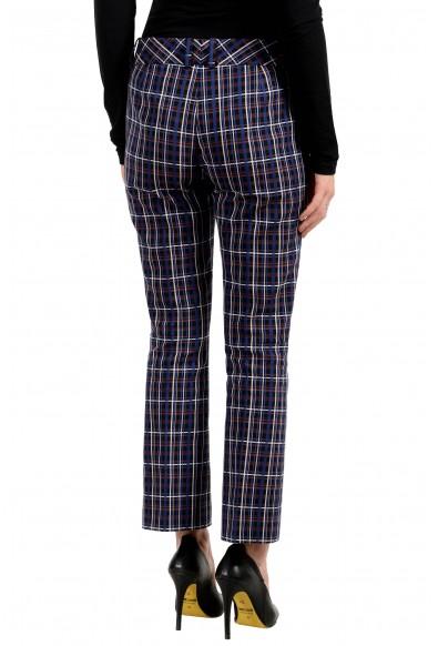 "Hugo Boss Women's ""Talenara2"" Multi-Color Plaid Pants: Picture 2"