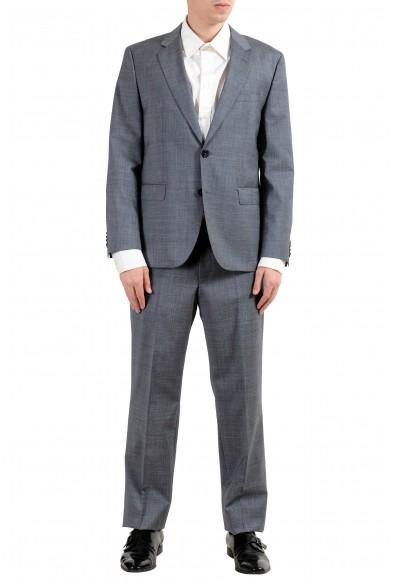 "Hugo Boss ""C-Jeffery/C-Simmons"" Men's 100% Wool Gray Two Button Suit"
