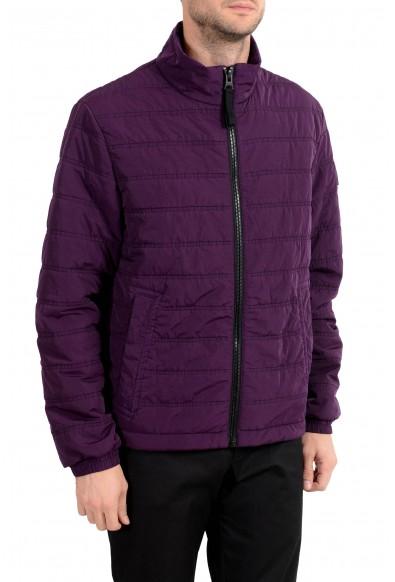 "Hugo Boss Men's ""Owest-D"" Purple Lightly Insulated Parka Jacket : Picture 2"