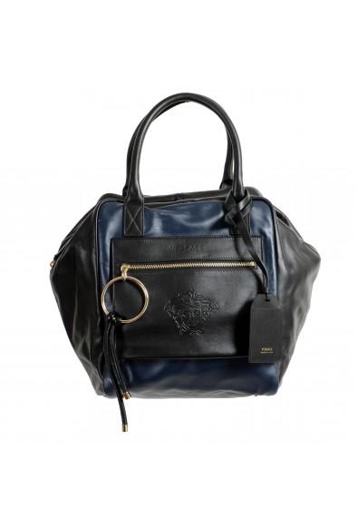 Versace 100% Leather Multi-Color Women's Handbag Shoulder Bag