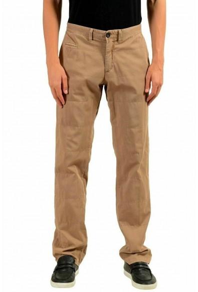 Moncler Men's Beige Casual Pants