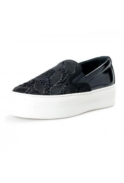 Salvatore Ferragamo Women's Pacau Lace Leather Loafers Shoes