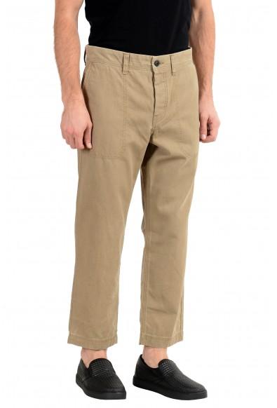 "Hugo Boss ""Salt"" Men's Beige Cropped Casual Pants : Picture 2"