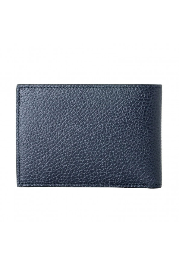 Gucci 100% Leather Navy Men's Bifold Wallet: Picture 6