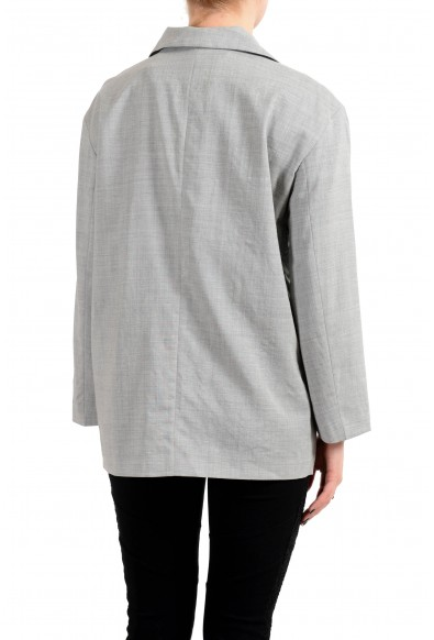 "Hugo Boss ""Jalysee"" Women's Wool Gray Three Button Blazer : Picture 2"
