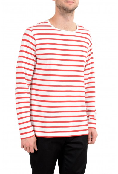 Burberry Men's Striped Long Sleeve Crewneck T-Shirt: Picture 2
