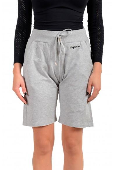 Dsquared2 Women's Gray Sweat Shorts