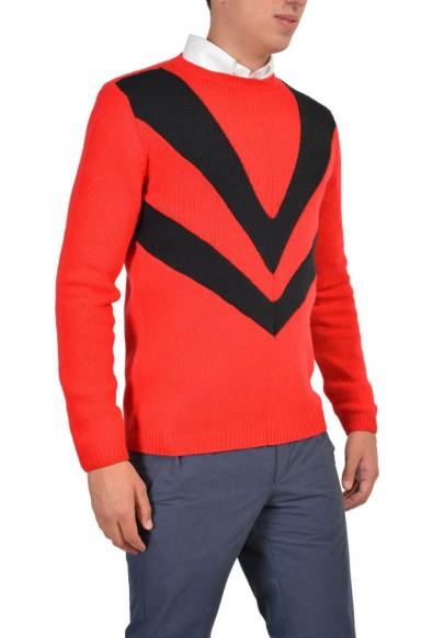 Prada Men's Wool Cashmere Multi-Color Long Sleeve Crewneck Sweater : Picture 2