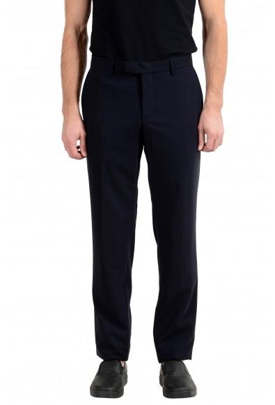 "Hugo Boss ""T-Gilmond"" Men's 100% Wool Navy Blue Dress Pants"