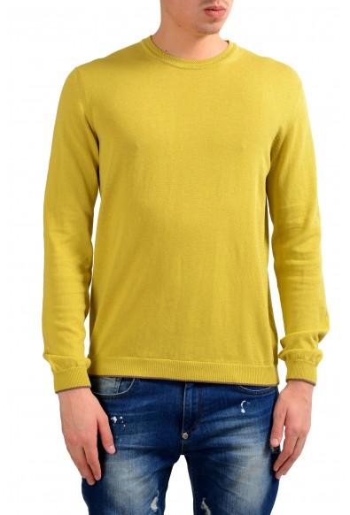 Malo Men's Crewneck Light Pullover Green Sweater