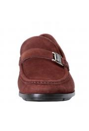 "Salvatore Ferragamo Men's ""GEROLAMO 5"" Brown Suede Leather Loafers Shoes: Picture 6"