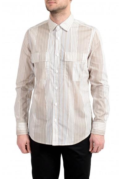 "Hugo Boss ""Robus_1"" Men's Regular Fit Long Sleeve Casual Shirt"
