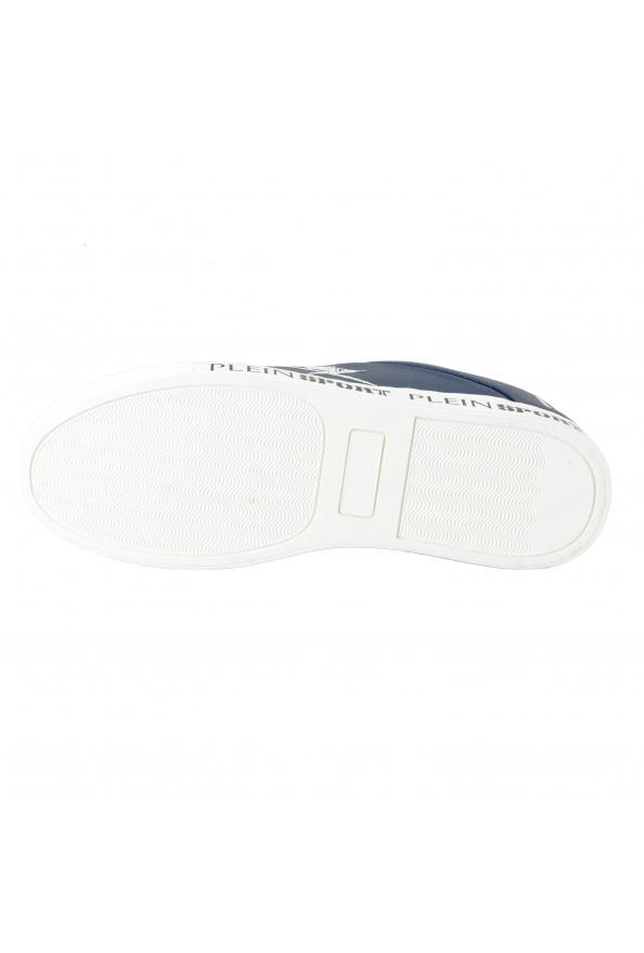 "Plein Sport ""Julian"" Blue Fashion Sneakers Shoes: Picture 5"