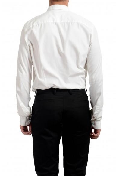Malo Men's White Long Sleeve Dress Shirt: Picture 2