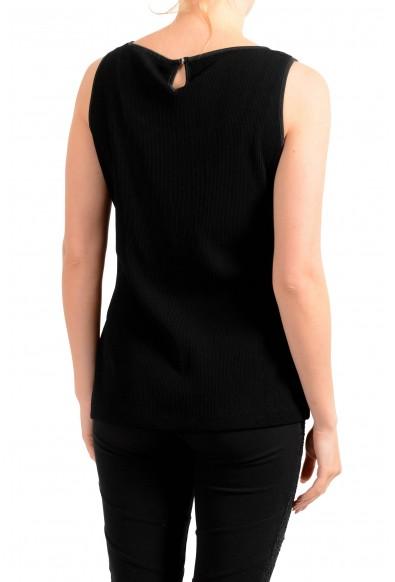 "Hugo Boss Women's ""Enori"" Black Sleeveless Stretch Blouse Top : Picture 2"