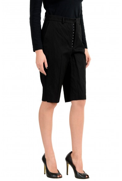 Hugo Boss Women's Black Stretch Casual Shorts : Picture 2