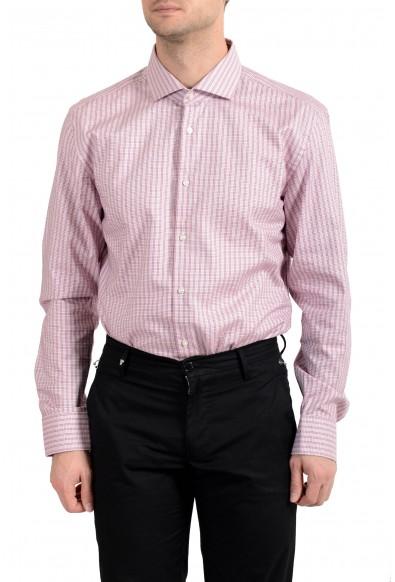 "Hugo Boss Men's ""Jason"" Plaid Slim Fit Long Sleeve Dress Shirt : Picture 2"