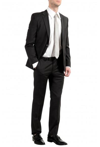 "Hugo Boss ""Jewels2/Linus"" Men's Dark Brown 100% Wool Two Button Suit: Picture 2"