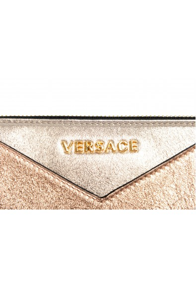 Versace Women's Multi-Color Sparkle Leather Zip Around Wallet: Picture 2