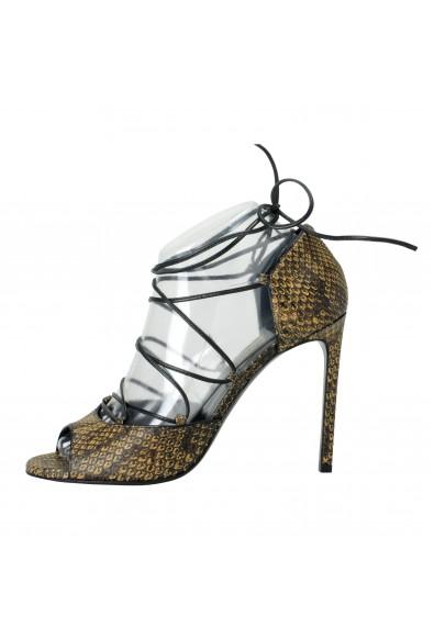 Saint Laurent Women's Python High Heel Pumps Shoes: Picture 2