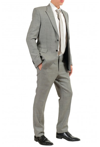 Versace Collection Men's 100% Wool Gray Two Button Suit : Picture 2