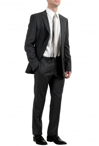 """Hugo Boss """"Huge6/Genius4"""" Men's 100% Wool Dark Gray Slim Two Button Suit: Picture 2"""