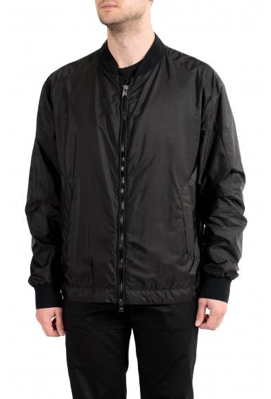 """Hugo Boss """"Chelter_PS"""" Men's Black Full Zip Windbreaker Jacket"""