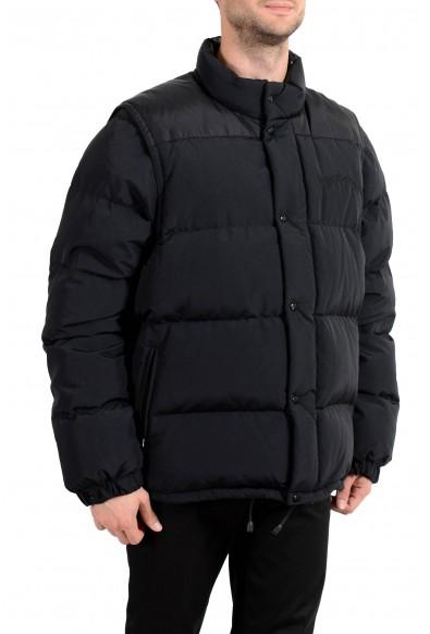 """Burberry London Men's """"HILLCROSS"""" Black Down Parka Vest Jacket: Picture 2"""