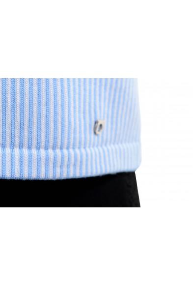 Salvatore Ferragamo Women's Wool Blue Knitted Spaghetti Strap Tank Top: Picture 2