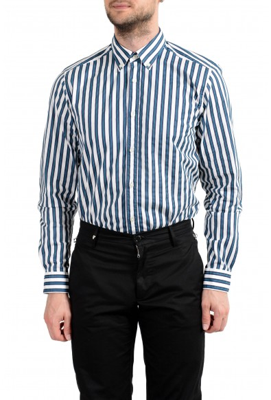 """Hugo Boss """"Lod"""" Men's Stretch Striped Long Sleeve Casual Shirt: Picture 2"""