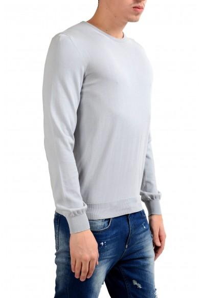 Malo Men's Crewneck Gray Light Pullover Sweater : Picture 2