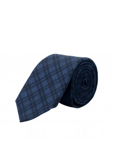Hugo Boss Men's Geometric Print 100% Wool Tie