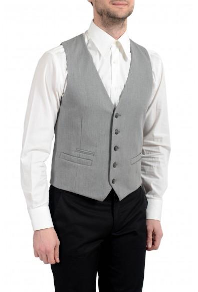 """Hugo Boss """"Batson_BS"""" Men's Gray Button Up Vest : Picture 2"""