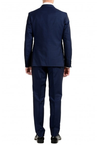 """Hugo Boss """"Namil/Ben2"""" Men's Mohair Wool Slim Blue Double Breasted Suit: Picture 2"""