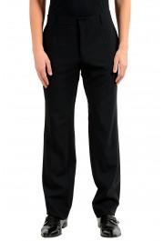 Dolce & Gabbana Men's Black Wool Dress Pants