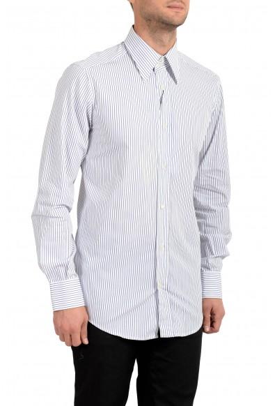 Dolce&Gabbana Men's Striped Long Sleeve Dress Shirt