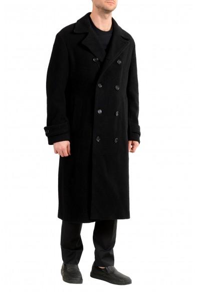 "Hugo Boss Men's ""Godeon-J"" Black Wool Double Breasted Coat: Picture 2"